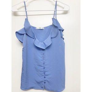 Mango MNG Blue Camisole